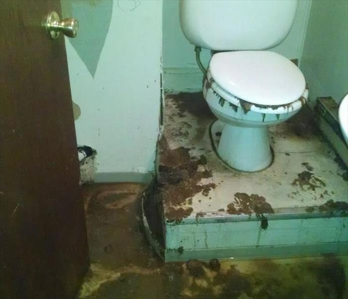 Sewage Cleanup Sewer Toilet Overflow Servpro Of