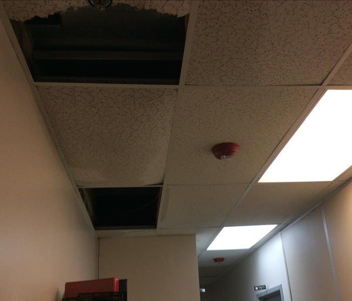 Spokane Valley - Ceiling Damage From A Leaking Roof