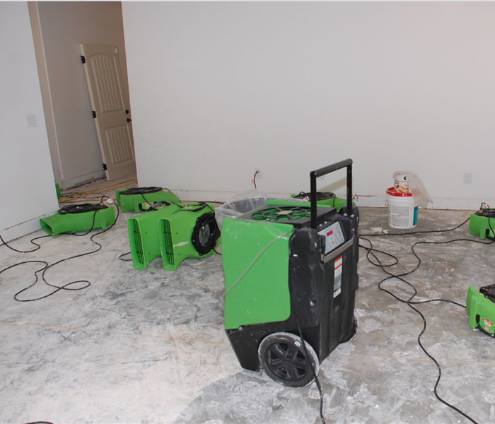 New Home Water Damage Restoration